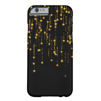 Golden Stars Barely There iPhone 6 Case