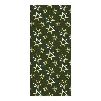 Golden Stars Customised Rack Card