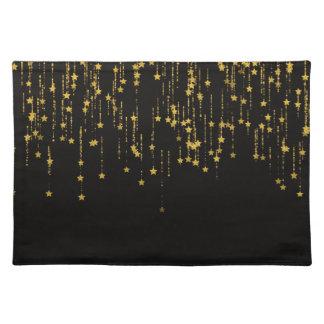 Golden Stars Placemat