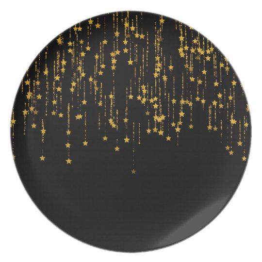 Golden Stars Plate
