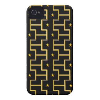 GOLDEN STARS & STRIPES Blackberry Bold case