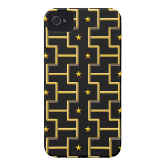 GOLDEN STARS & STRIPES iPhone case-mate