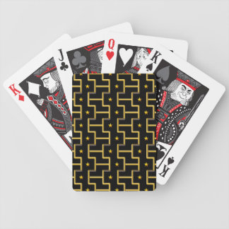 GOLDEN STARS & STRIPES playing cards