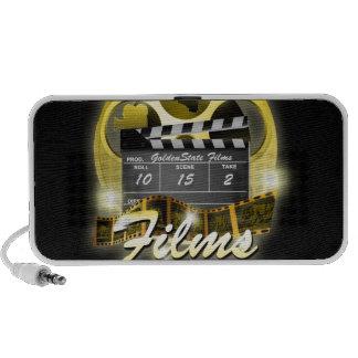Golden State Films Doodle Laptop Speakers