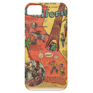 Golden State of California Facts iPhone 5/5S Covers