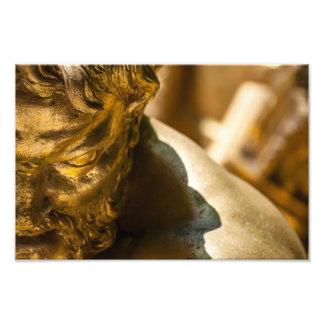 Golden Statuary at Versailles Photographic Print