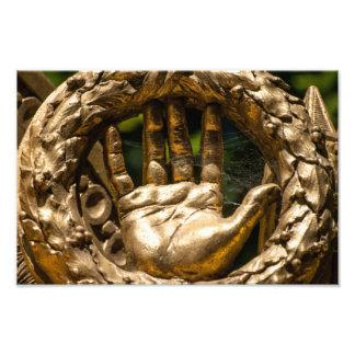 Golden Statuary at Versailles Photo Art