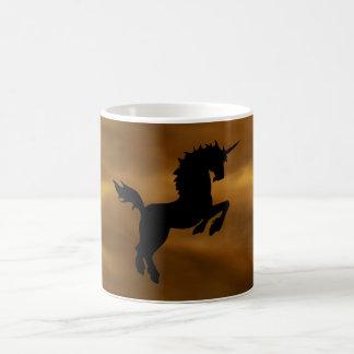 Golden Storn Cloud Unicorn Mug