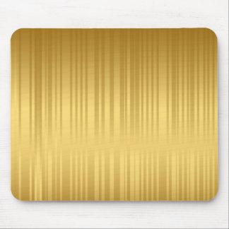 golden stripes mousepad