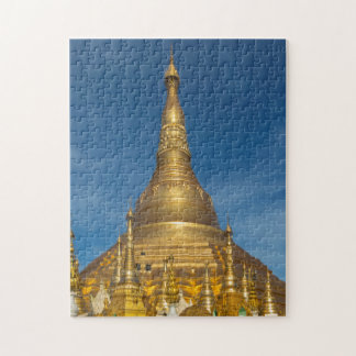 Golden Stupa Temple Jigsaw Puzzle