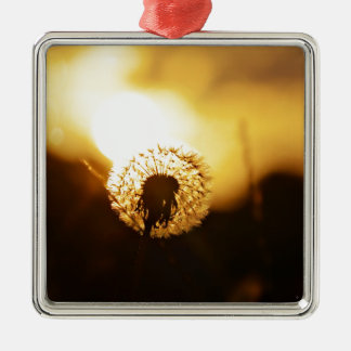golden sun dial christmas ornament