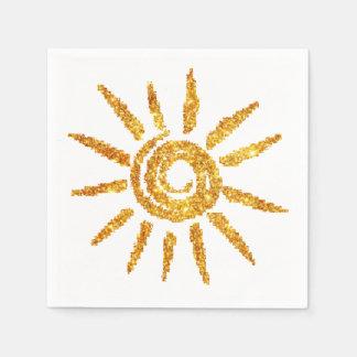 Golden Sun Disposable Napkins