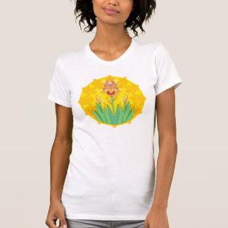 Golden Sun Iris Mandala Shirt