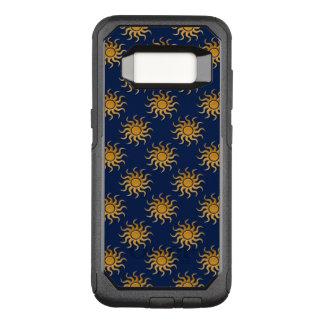 Golden Sun Pattern by Shirley Taylor OtterBox Commuter Samsung Galaxy S8 Case