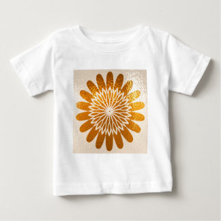 Golden Sunflower ART decoration Baby T-Shirt