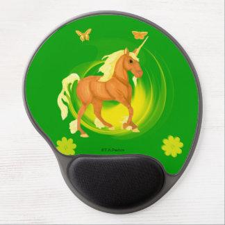 Golden Sunlight Unicorn Gel  Mousepad Gel Mouse Pad
