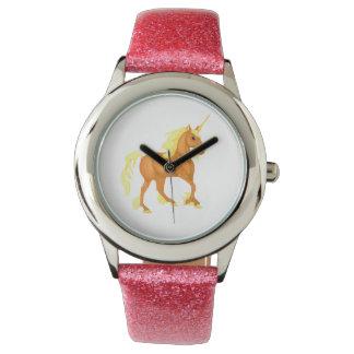 Golden Sunlight Unicorn Watch