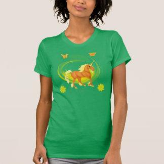 Golden Sunlight Unicorn Woman's T-shirt