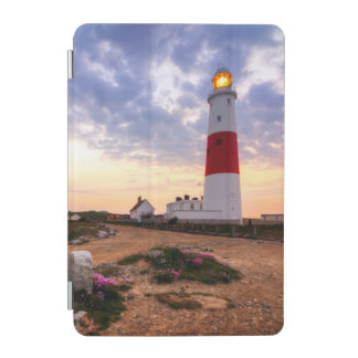 Golden Sunrise At Portland Bill Lighthouse iPad Mini Cover