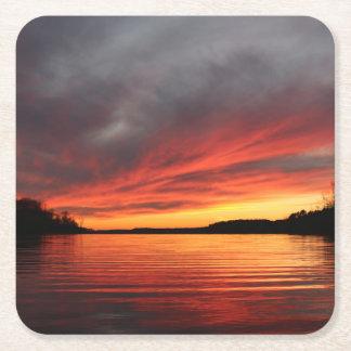 Golden Sunset Coaster