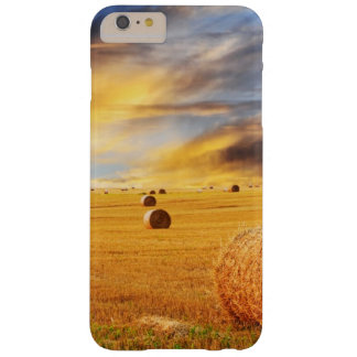 Golden Sunset Over Farm Field Barely There iPhone 6 Plus Case