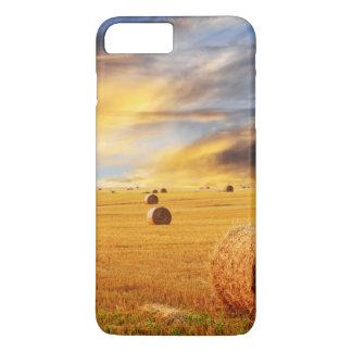 Golden Sunset Over Farm Field iPhone 8 Plus/7 Plus Case