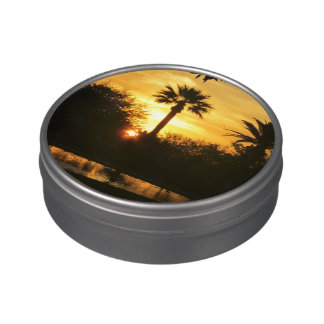 Golden Sunset Over Tucson Jelly Belly Candy Tins