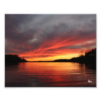 Golden Sunset Print Photo