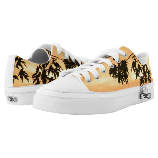 Golden Sunset Printed Shoes