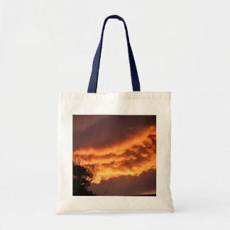 Golden Sunset Budget Tote Bag