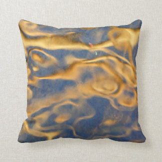 Golden Swirl Cushion