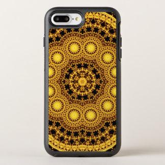 Golden Symmetry Mandala OtterBox Symmetry iPhone 7 Plus Case