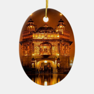 GOLDEN TEMPLE AMRISTAR CHRISTMAS ORNAMENT