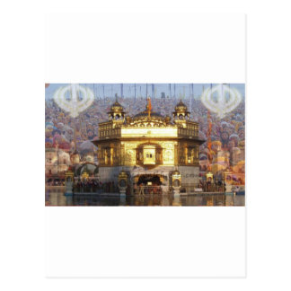 GOLDEN TEMPLE POSTCARD