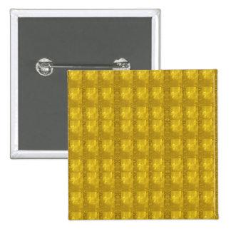 Golden Templetes Add TEXT PHOTO Slogan Quote JPG 15 Cm Square Badge