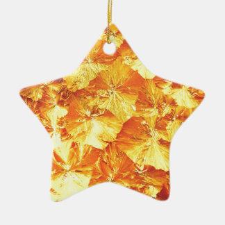 Golden texture christmas ornament