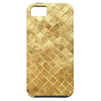 Golden texture design iPhone 5 cover