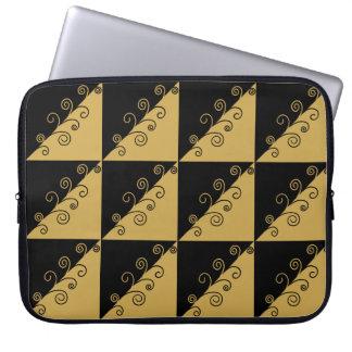 Golden Thread Laptop Sleeve