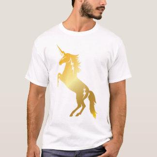 Golden Thundercorn Rearing T-Shirt