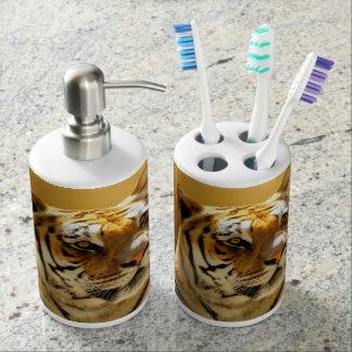 Golden Tiger Bath Sets