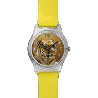 Golden Tiger Watch