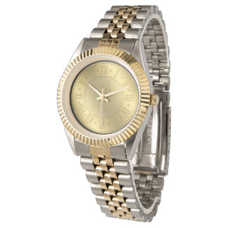 Golden Times   Personalizable Attorney At Law Watch