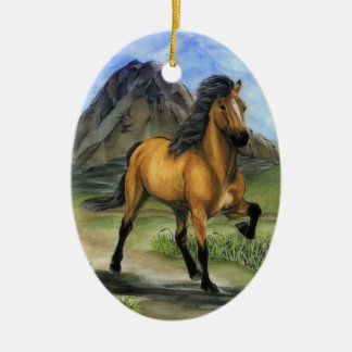 Golden Tolt Christmas Ornament