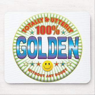 Golden Totally Mousemat