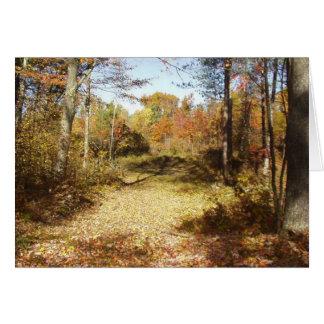 Golden Trail Card