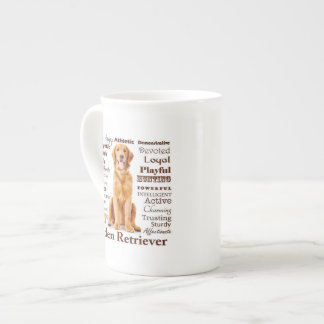 Golden Traits Bone China Mug