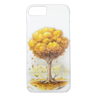Golden Tranquility iPhone 8/7 Case