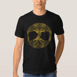 Golden Tree Of Life Shirt