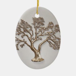 GOLDEN TREE OF PROSPERITY JAPANESE CHRISTMAS ORNAMENT