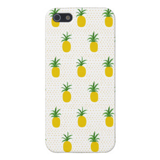 Golden Tropical Pineapples iPhone 5 Case
